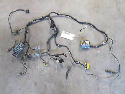 97 Jeep Wrangler Firewall Dash Front Body Harness Fuse Box #56009508