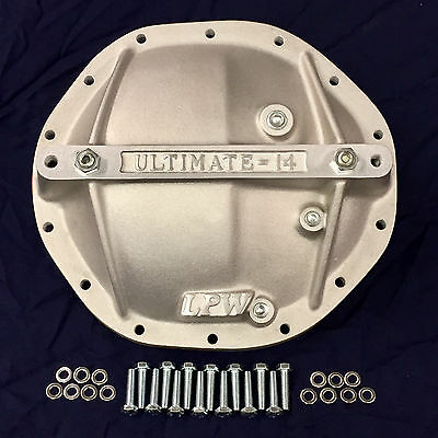 """Brute G2 /& Axle Rear Differential Cover For /'80 Current GM Semi Float 14 9.5/"""""""