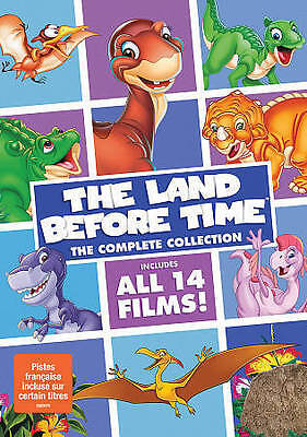 The Land Before Time: The Complete Collection (DVD Box Set ALL 14 FILMS) NEW