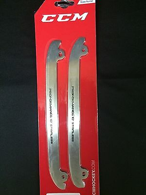 CCM Proformance Stainless Steel Runners Various Sizes *1 PAIR* E-Pro