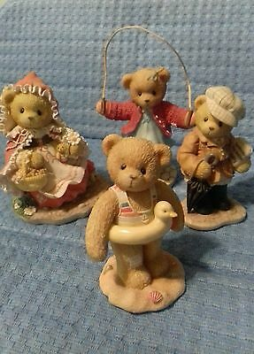 cherished teddies collection, bundle lot.