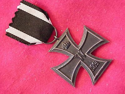 Original Wwi German Iron Cross Second Class Medal