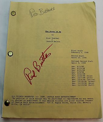 The Story of Us * 1998 Movie Script * Bruce Willis & Michelle Pfeiffer Romance