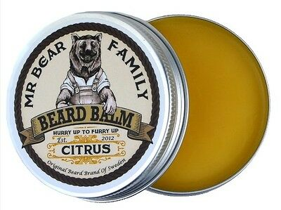 Mr. Bear Family Beard Balm Bartpomade 60ml Citrus