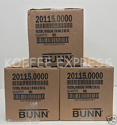 Bunn 12-Cup Coffee Filters 3 case 1000 per case 3000 total  20115.0000