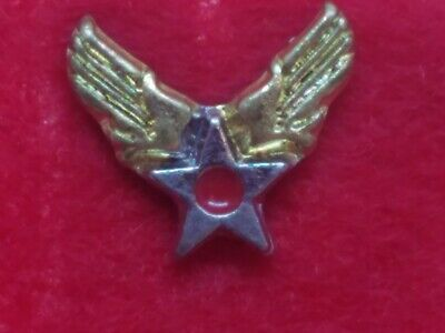 Vintage Ww Ii Us Army Air Force Saad San Antonio Air Depot Lapel Hat Tie Pin