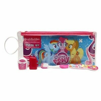 Brush Buddies My Little Pony Travel Kit with tootbrush, cap & reusable pouch