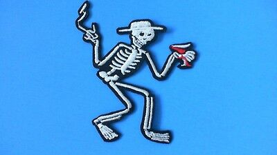Lot of 5 Social Distortion Skeleton Iron On Patches! New Punk Rock Mike Ness