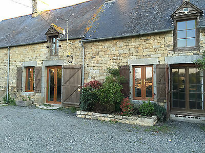 Large French farmhouse and 3 acres in Brittany /25KM SOUTH OF MONT ST MICHEL