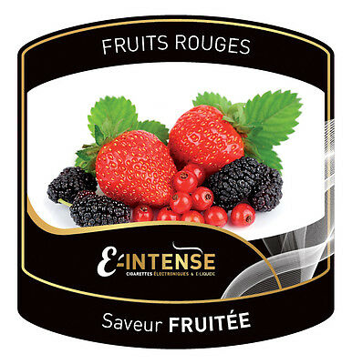 e liquide fruits rouges 10 ml