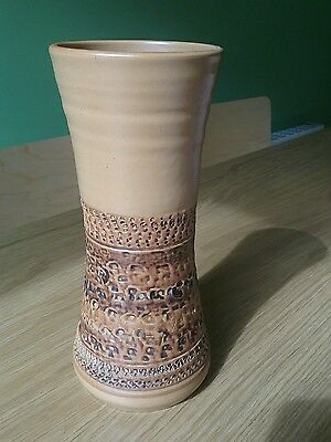 70s Vintage Purbeck Vitreous Pottery Studio Vase in Very  Good condition.