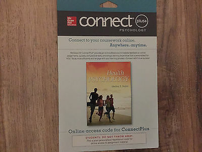 Connect Access Card for Health Psychology 9th Edition