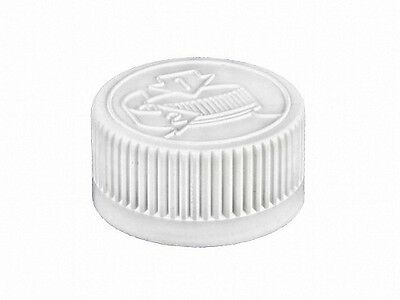 28-400 Child Resistant Screw-on Caps for Plastic & Glass Bottles (Lot of 100)