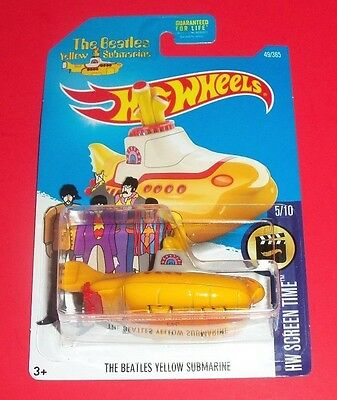 Hot Wheels The Love Bug - New - The Beatles Yellow Submarine