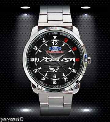 FORD FOCUS ST RACING CAR FORD Sport Metal Watch