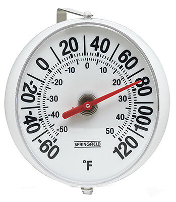TAYLOR PRECISION PRODUCTS 5-1/4-Inch Diameter Outdoor Thermometer