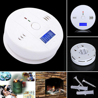 1PC LCD CO Carbon Monoxide Poisoning Sensor Alarm Warning Detector Tester KY