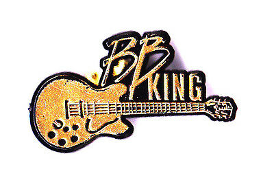 Legendary Blues Guitarist Bb King Guitar Pin! Obtained Directly From Him In Pers