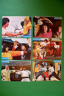Five Pattern Dragon Claws 1983 Dragon Lee  Kung Fu Unique Exyu Lobby Cards