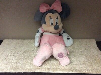 """Official Disney Store Large Minnie Mouse Soft Plush  Teddy Doll 23"""""""