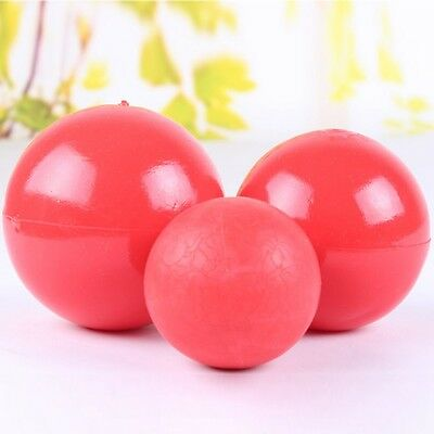 Boomer Ball Indestructible Solid Dog Toy - Dog / Puppy - Assorted Colours Red