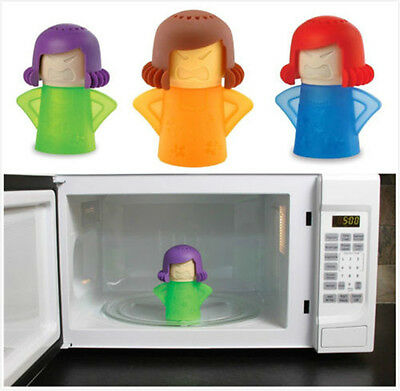 2017 Newest Metro Angry Mama Microwave Cleaner Kitchen Gadget Tool Useful KY