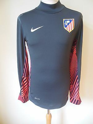 Athletico Madrid Goalkeeper Player Issue Shirt - Small