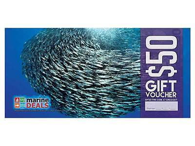 New Marine Deals $50 Gift Voucher with Sleeve - Baitball Ships to NZ Only