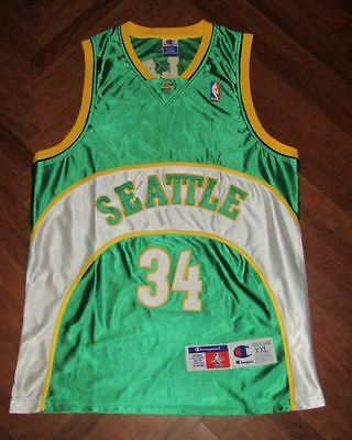 Canotta AUTHENTIC RAY ALLEN SEATTLE SUPERSONICS NBA basket maglia JERSEY TRIKOT