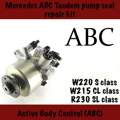 Mercedes ABC (Active Body Control) Tandem Pump Repair Kit, W220, W215 , R230