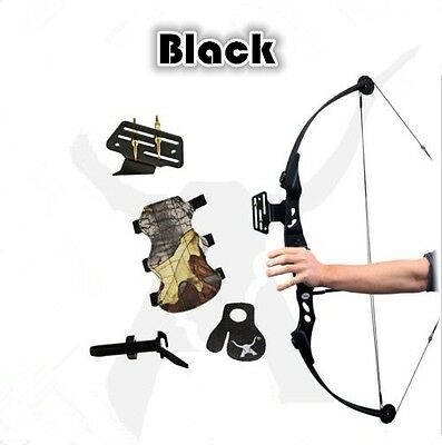 New 40-60lb Black Compound Bow Adjustable Archery Hunting