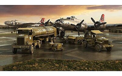 AF06304 1/72 AIRFIX  WWII USAAF 8th Air Force Bomber Resupply Set