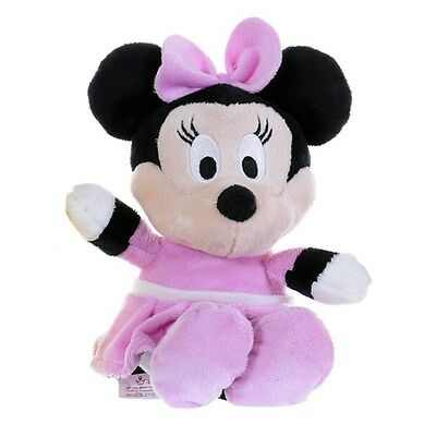 Minnie Mouse Plush Soft Toy, Mickey Mouse Clubhouse (8 Inch)