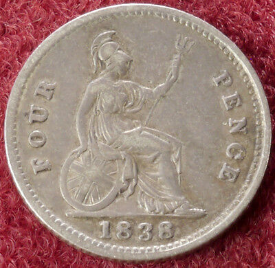 GB Fourpence Groat 1838 (C2210)