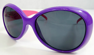 Girls Quality Trendy Purple Pink Frame Sunglasses 100% UV Protection & Case