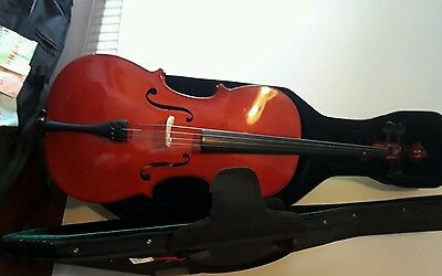 Cello 3/4 size with lightweight bow
