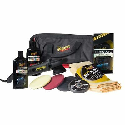 Meguiars MT320 Deluxe Polisher Kit (Unit + Pads + Extras) Valeting, Detailing