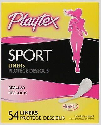Playtex Sport Regular Liners - 54 Ct
