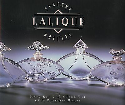 French Lalique Art Glass Perfume Bottles - History Types Models Dates Etc / Book