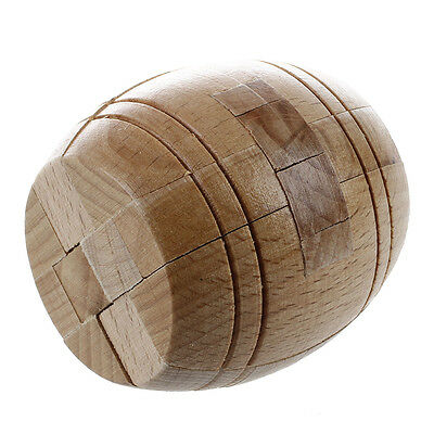 Kongming Luban Wooden Lock Bucket Puzzle Toy AD