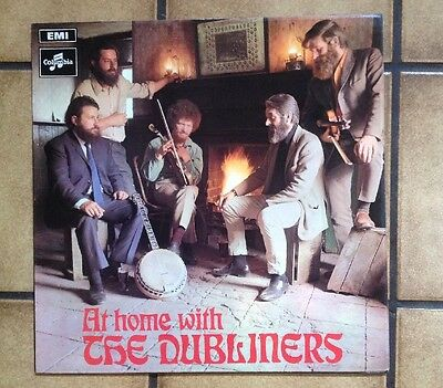 THE DUBLINERS AT HOME WITH 1969 Columbia EMI SCX 6380 Ex.