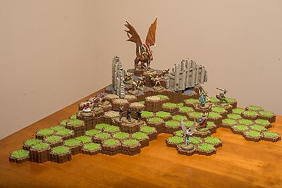 Heroscape Rise Of The Valkyrie Master Set Box - 100% complete set