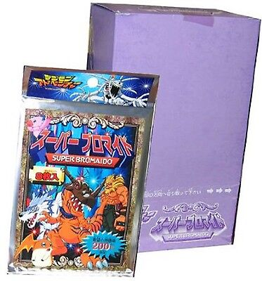Digimon 'Super Bromaido' Card Game - Japanese - Booster Box 12 Sealed Packs
