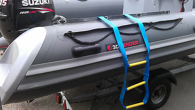 Boarding Boating Ladder, Rib Step, Inflatables, Yachts, Speed Boats, Canal Boats