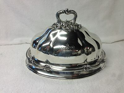Best Quality Silverplate Victorian Food Dome