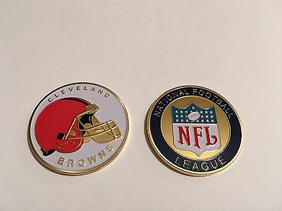 Nfl Cleveland Browns Sport American Football Collectable Challenge Coin New