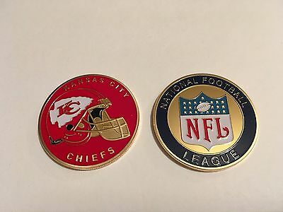 Nfl Kansas City Chiefs Sport American Football Collectable Challenge Coin New
