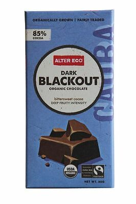 ALTER ECO Dark Blackout Chocolate 80g x 2