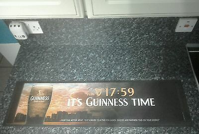 Large, Its Guinness Time Bar mat type