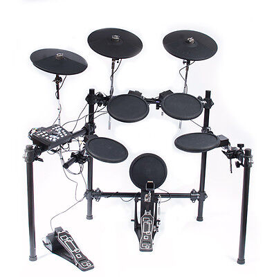 Electronic Drum Kit - 8-piece - 3 Cymbals - 40 Presets -  Fully Adjustable